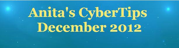 Cyber Tips Newletter - December