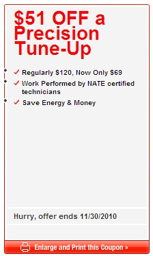 south bend furnace tune up coupon