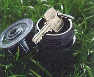 Sprinkler Hide a Key