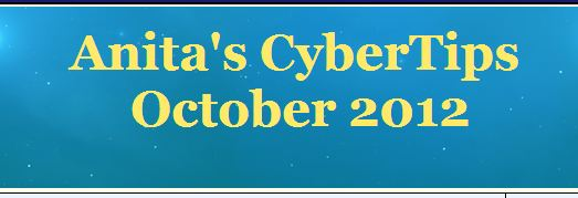 Anita's Cyber Tips Newsletter